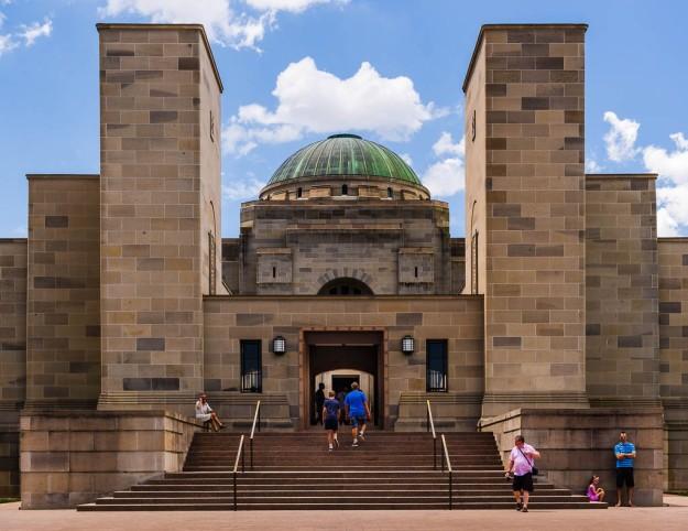Australian War Memorial Entrance