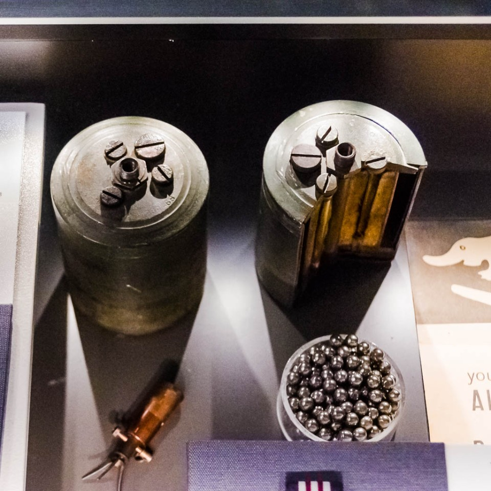 German WWII  anti-personnel mine.