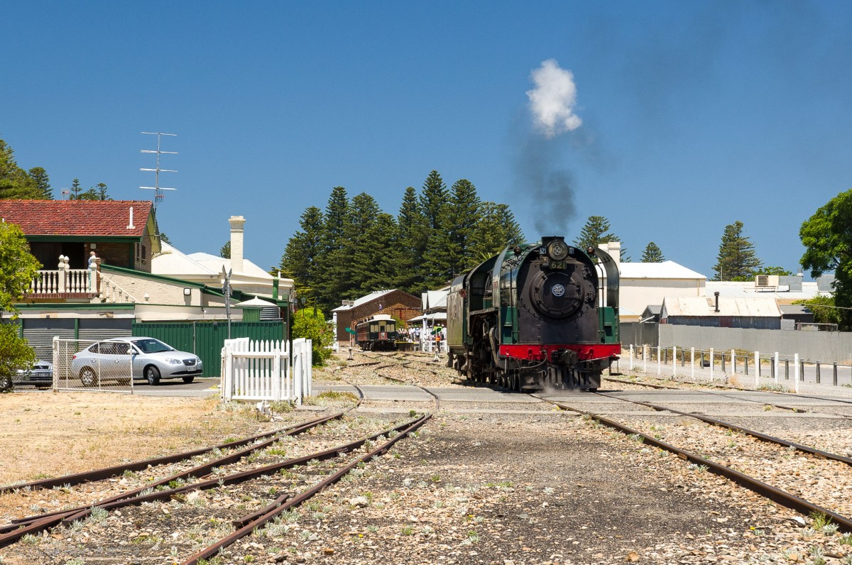 621 Duke of Edinburgh at Victor Harbor Station