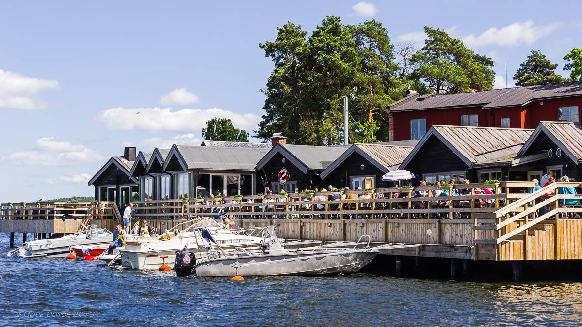 Fjaderholmarna wharf