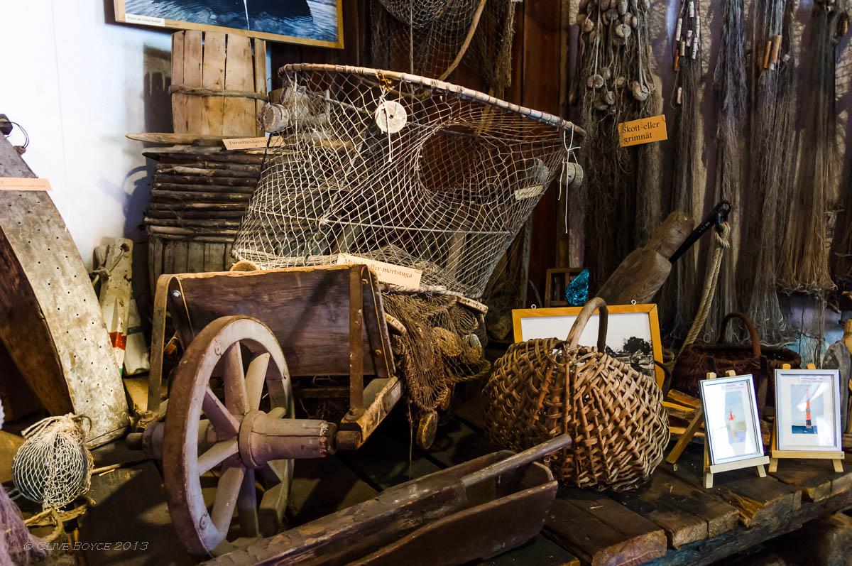 Fishing equipment, Fjaderholmarna