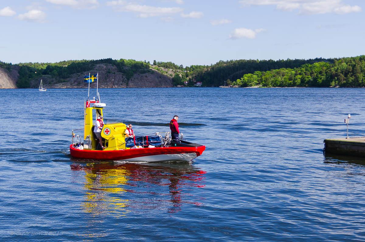 Maritime Rescue service, Fjaderholmarna, Sweden