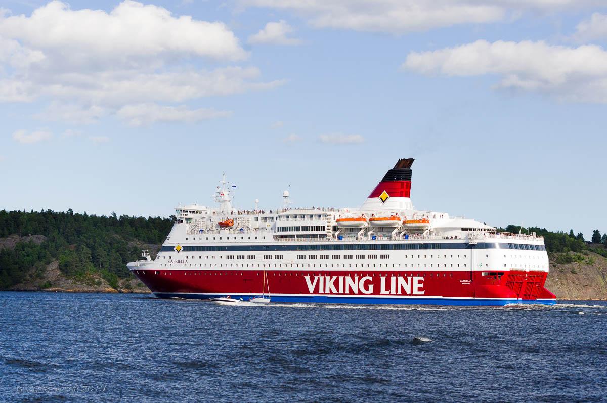 Cruise boat, Fjaderholmarna, Sweden