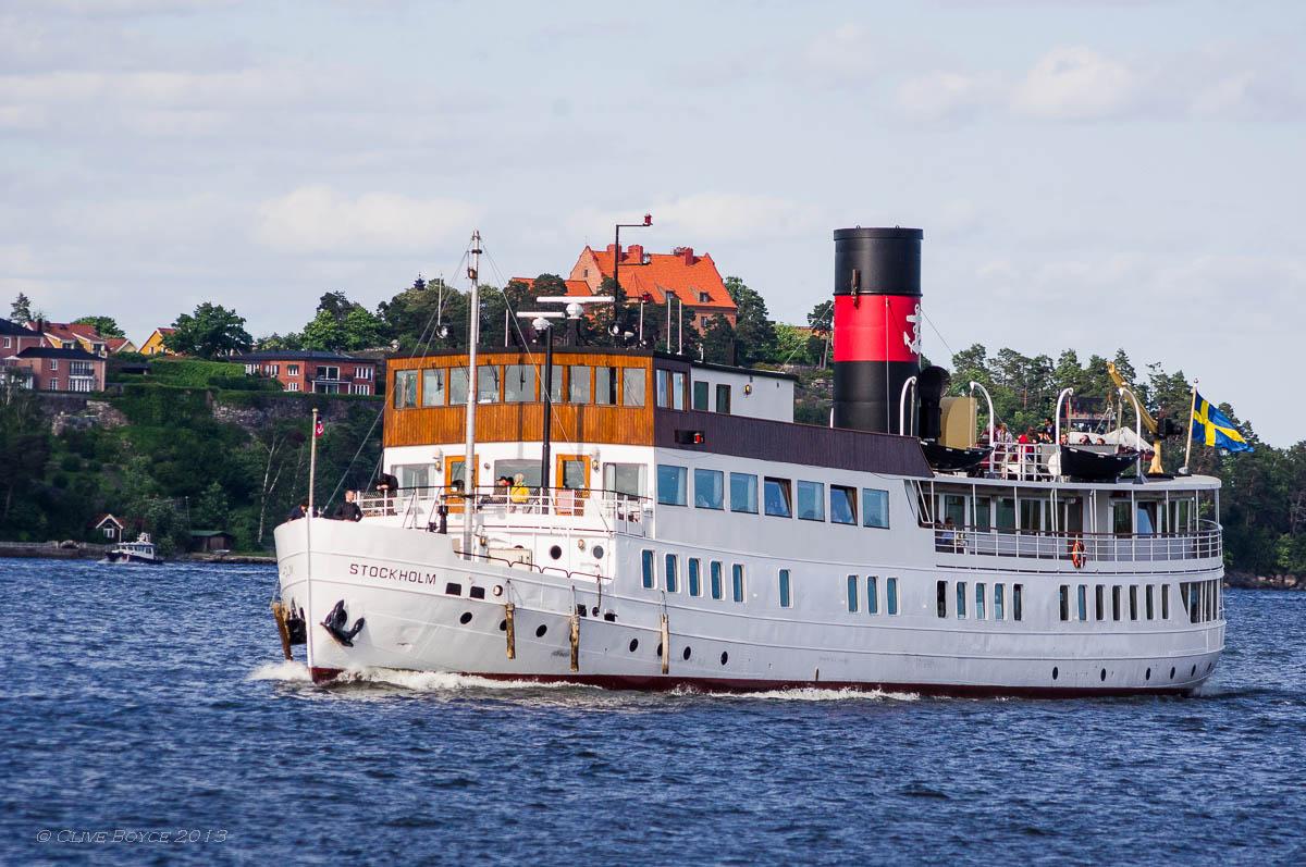 Ferry, Fjaderholmarna, Sweden