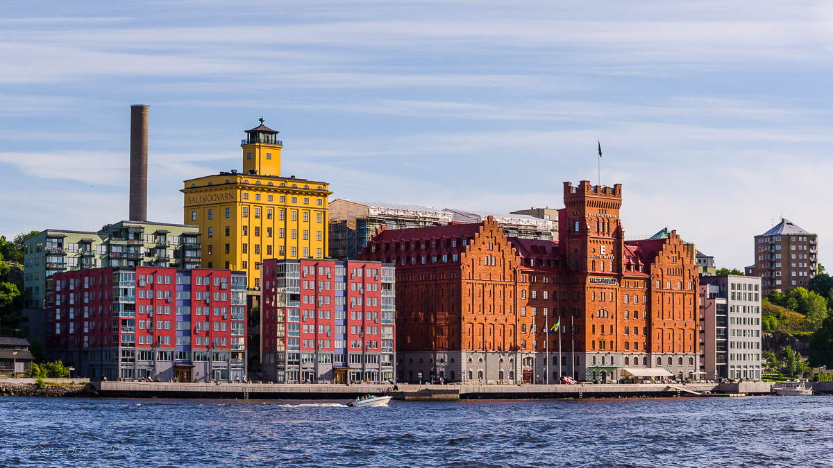 Maritime warehouses, Stockholm