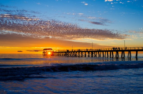 Henley Beach Sunset, South Australia