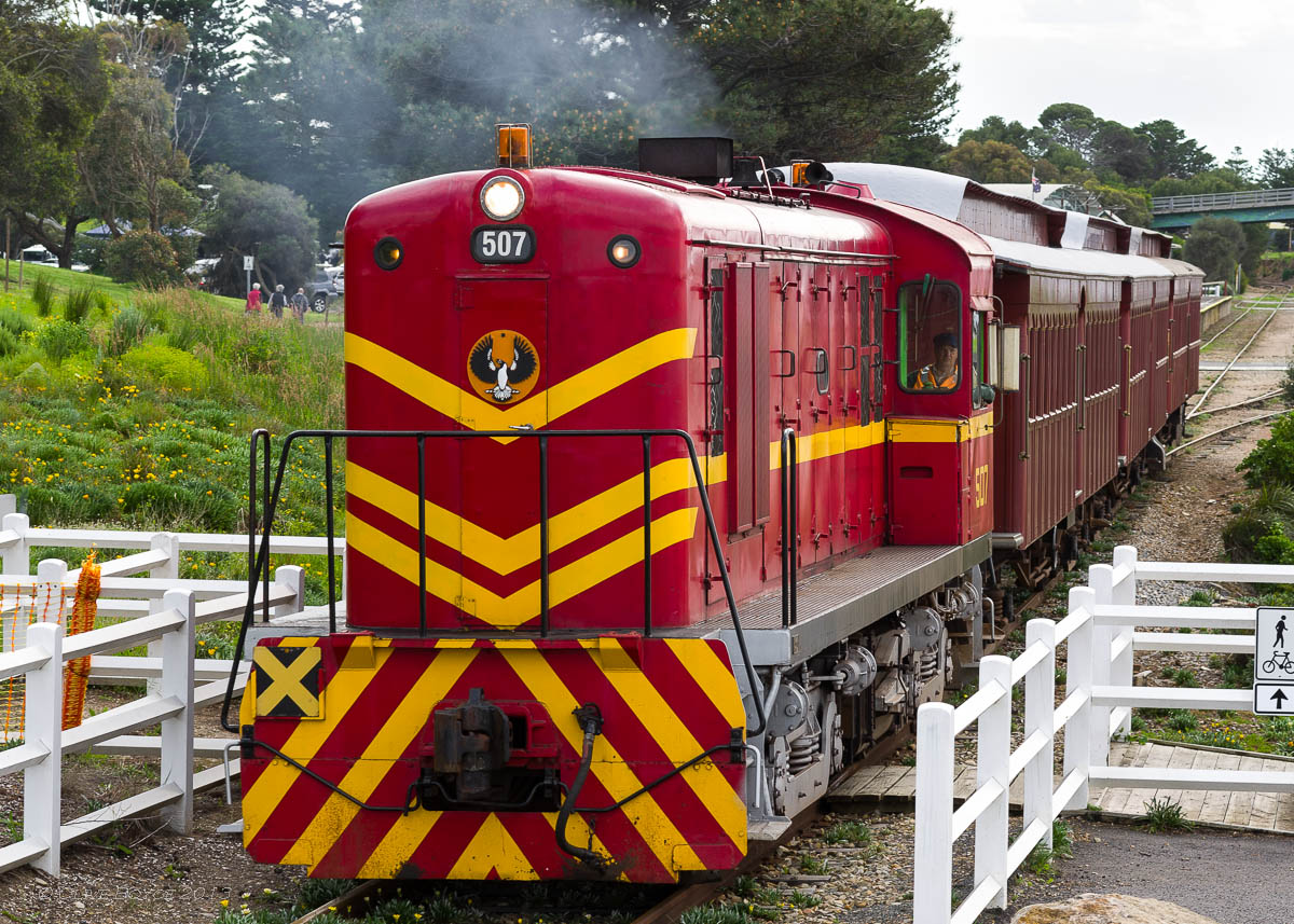 SteamRanger No. 507 Cockle Train