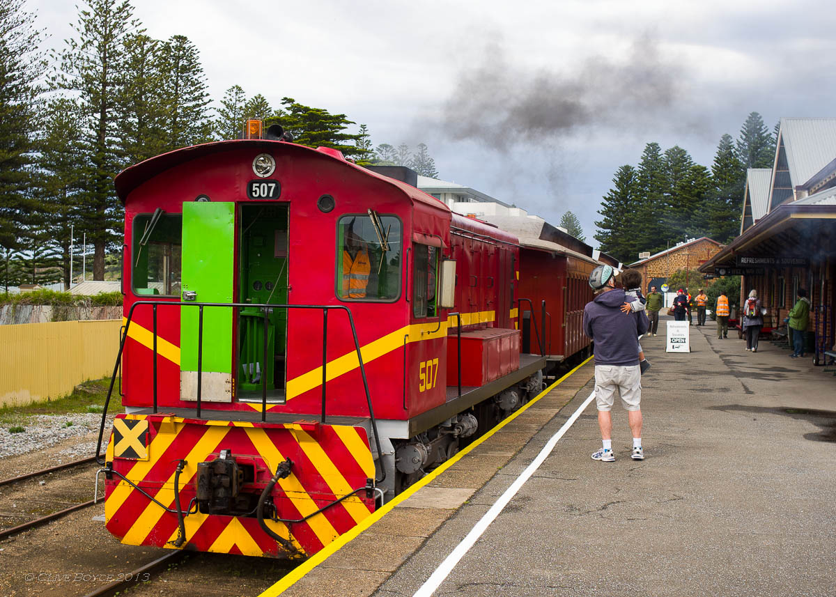 SteamRanger 507 Cockle Train