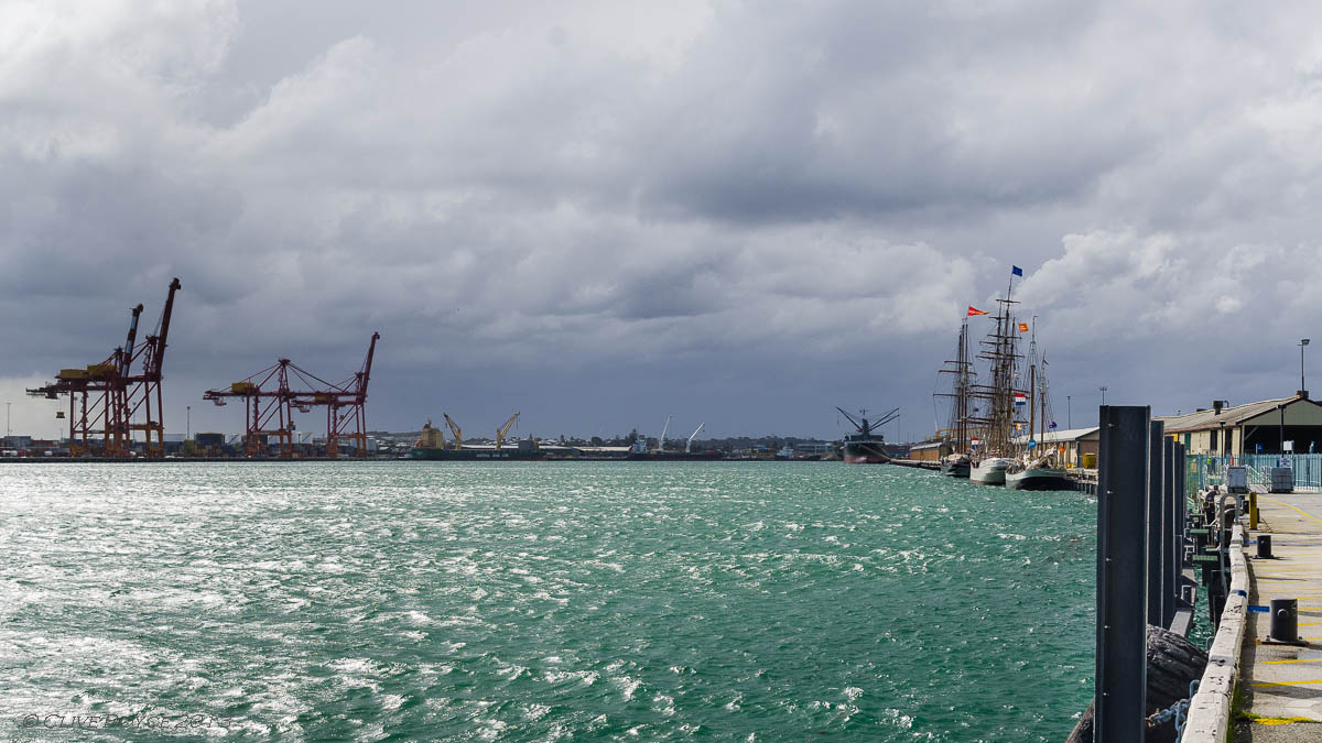 Dutch Tall Ships in Fremantle