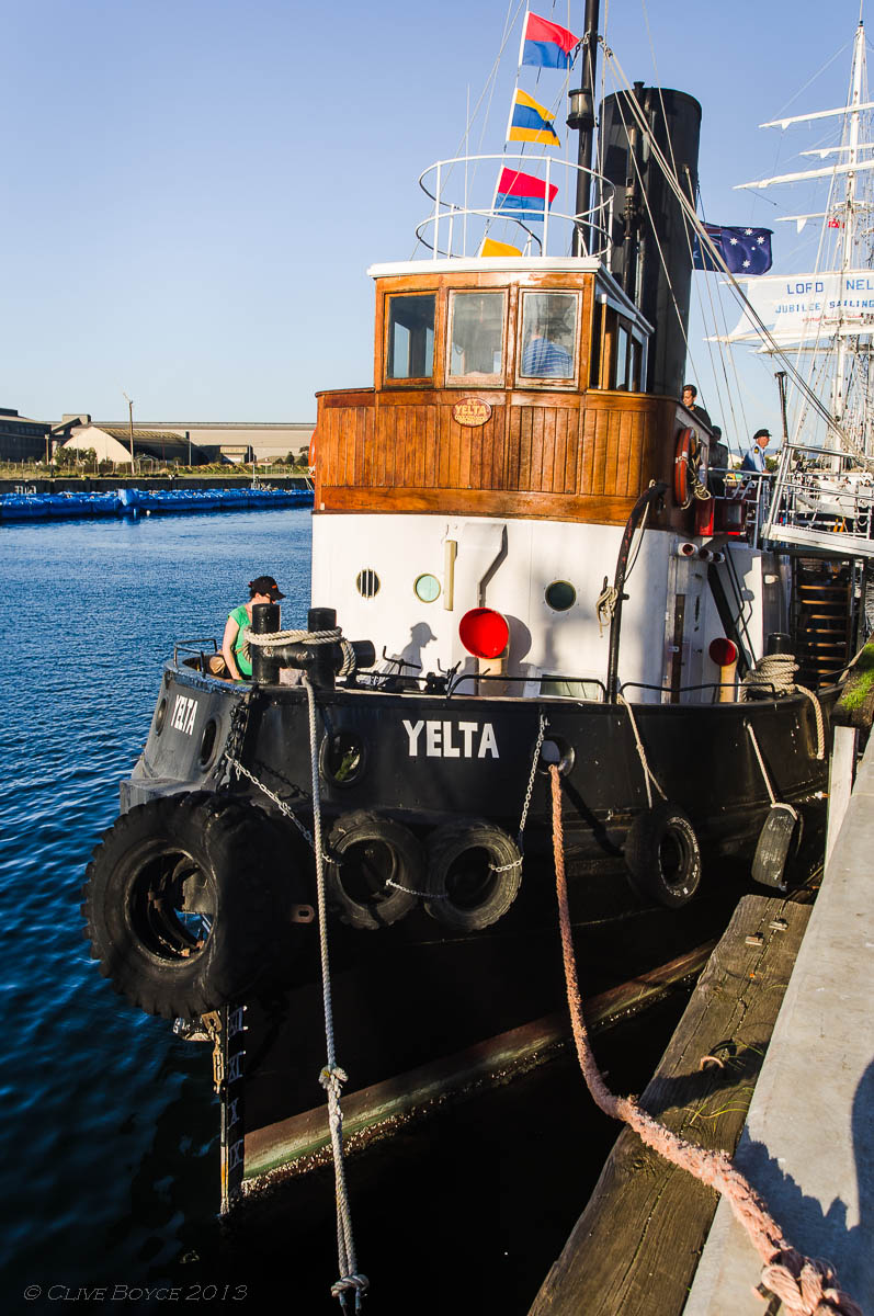 Steam Tug Yelta