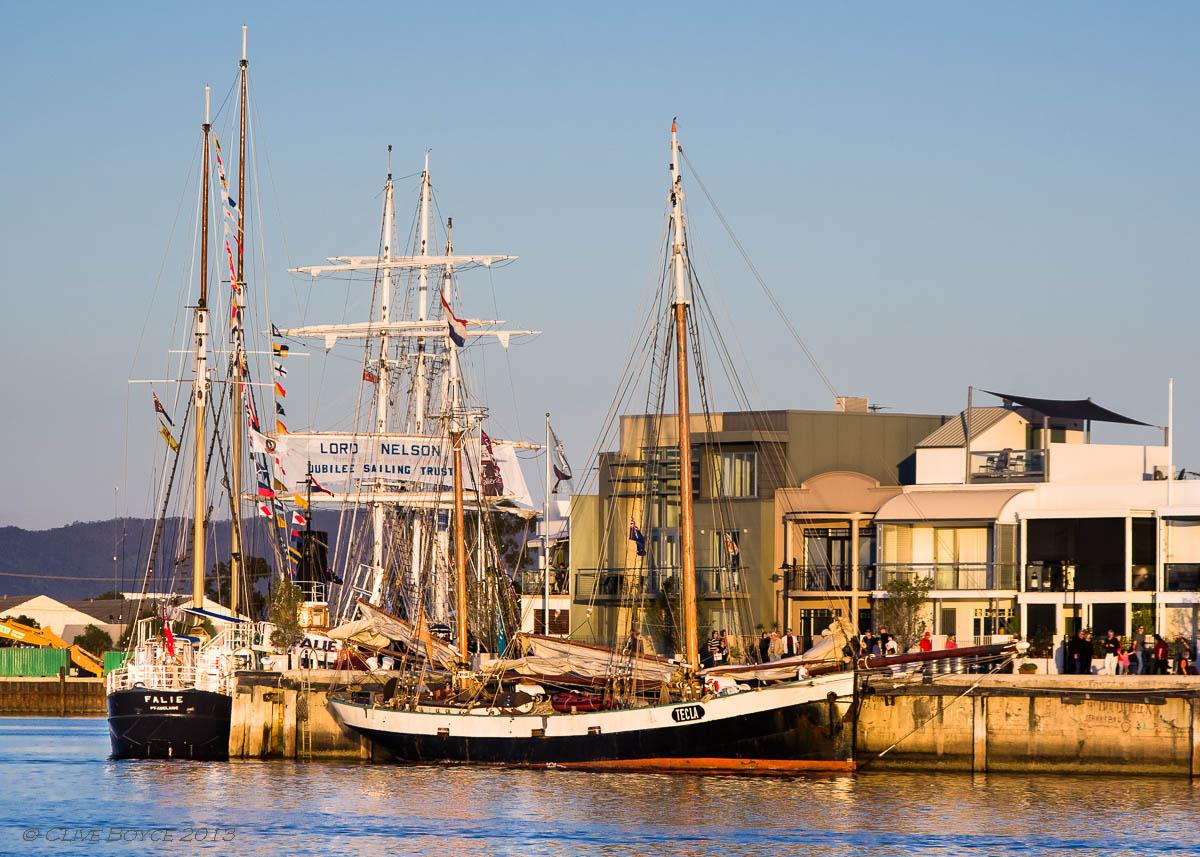Tall Ships Port Adelaide