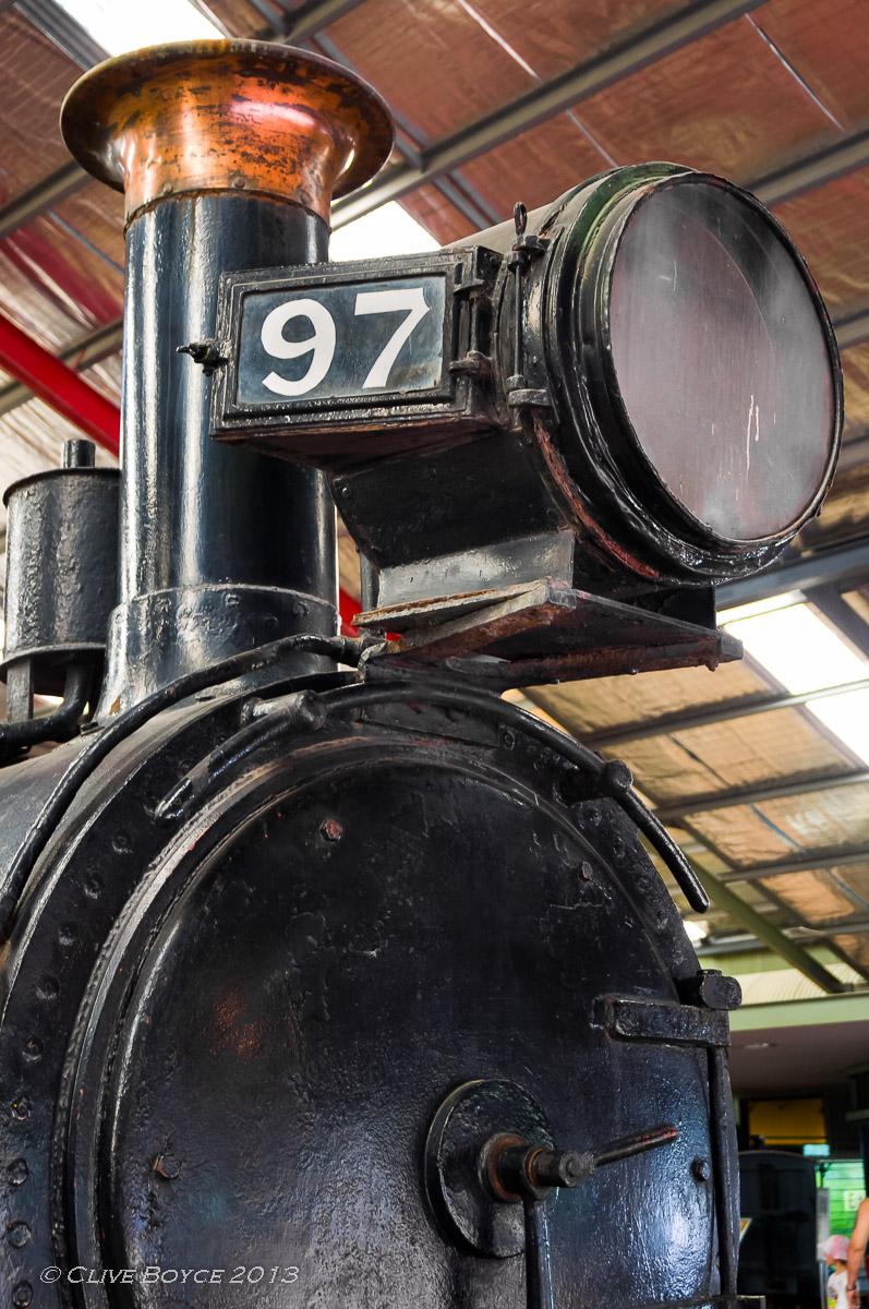 SAR Y97 2-6-0 steam locomotive