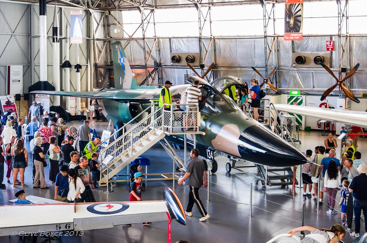 RAAF General Dynamics F-111C Fighter Bomber A8-134