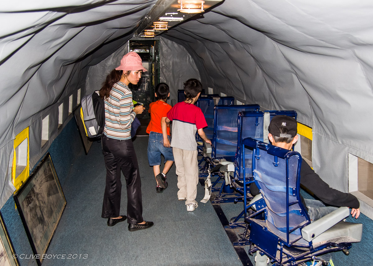 RAAF C-47B Dakota A65-114 cabin