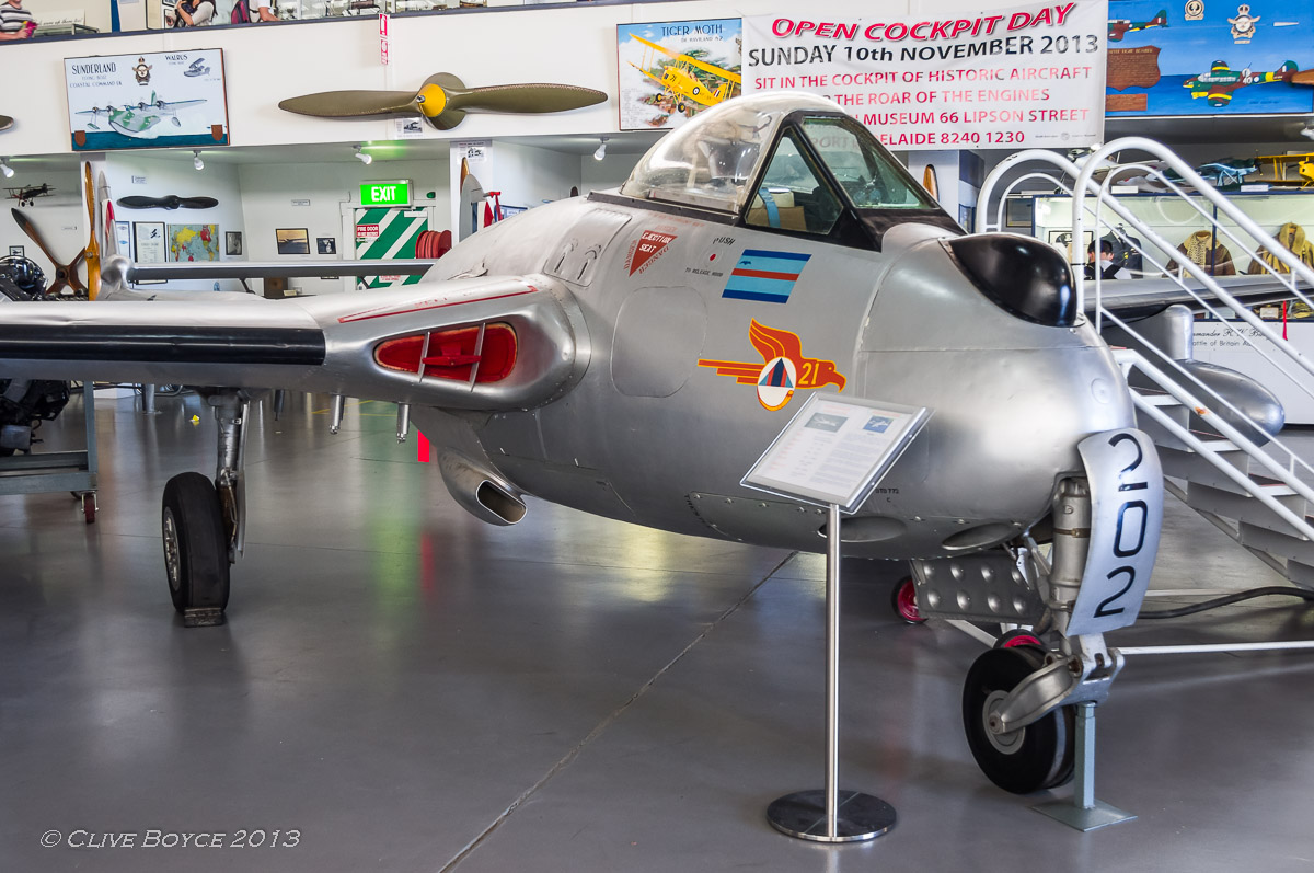 De Havilland DH-100 Vampire A79-202