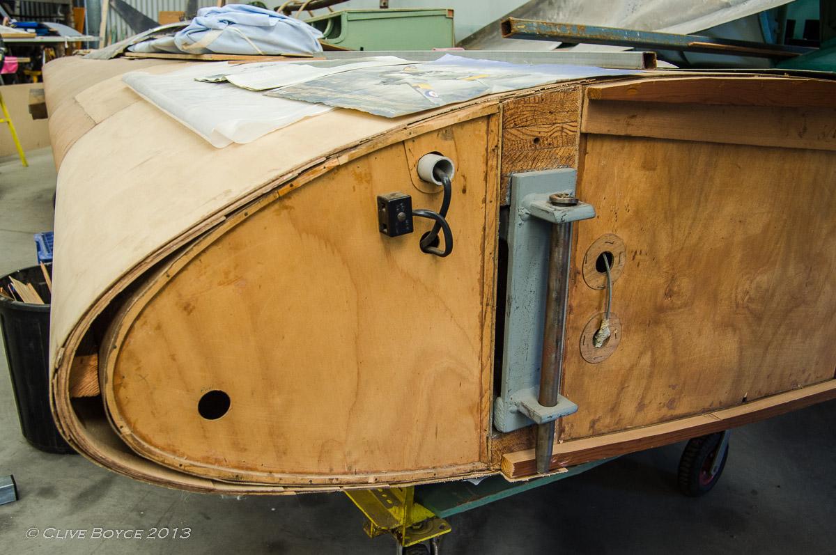 Avro Anson wing rebuild
