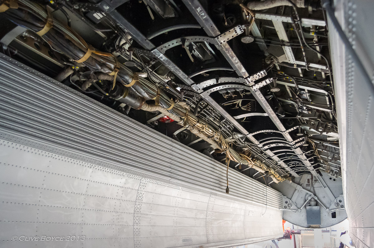 English Electric Canberra bomb bay