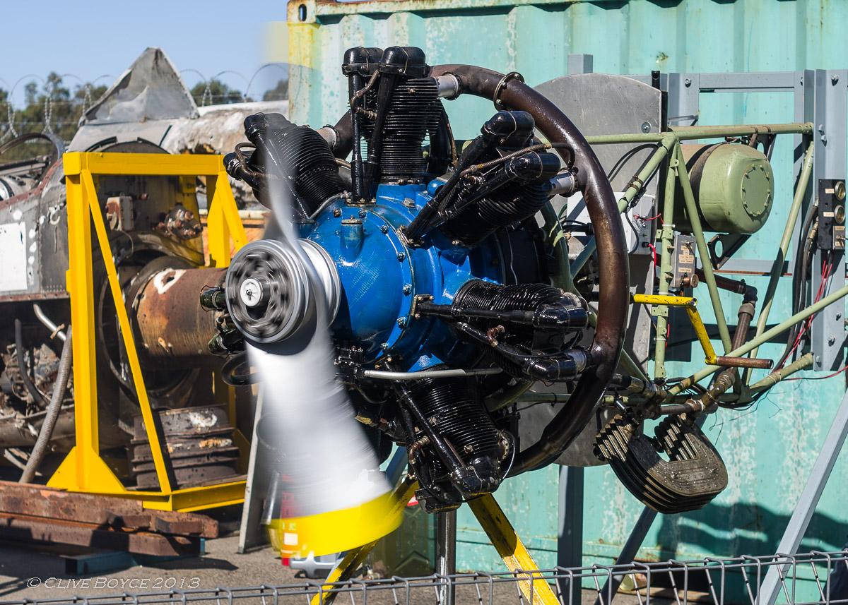 Armstrong Siddeley Cheetah engine