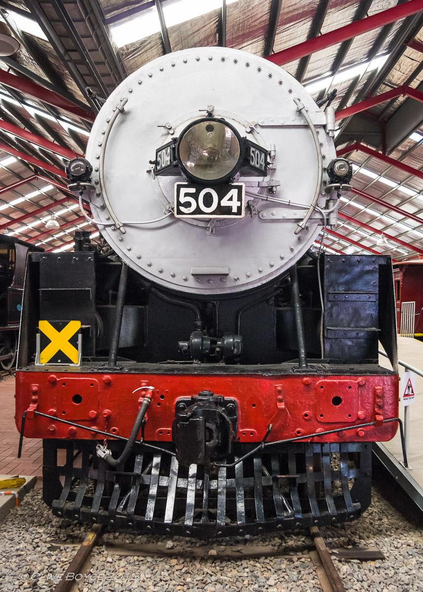 SAR steam locomotive No. 504