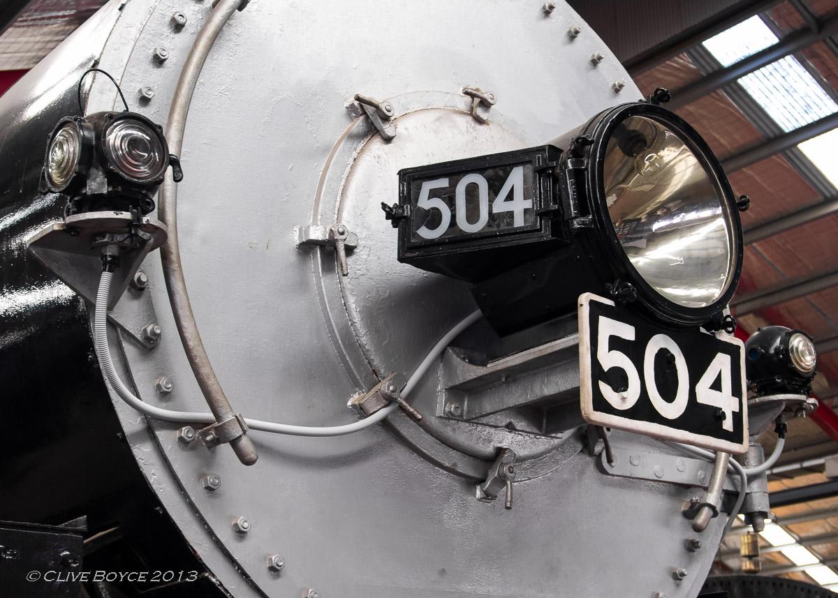 SAR steam engine No. 504