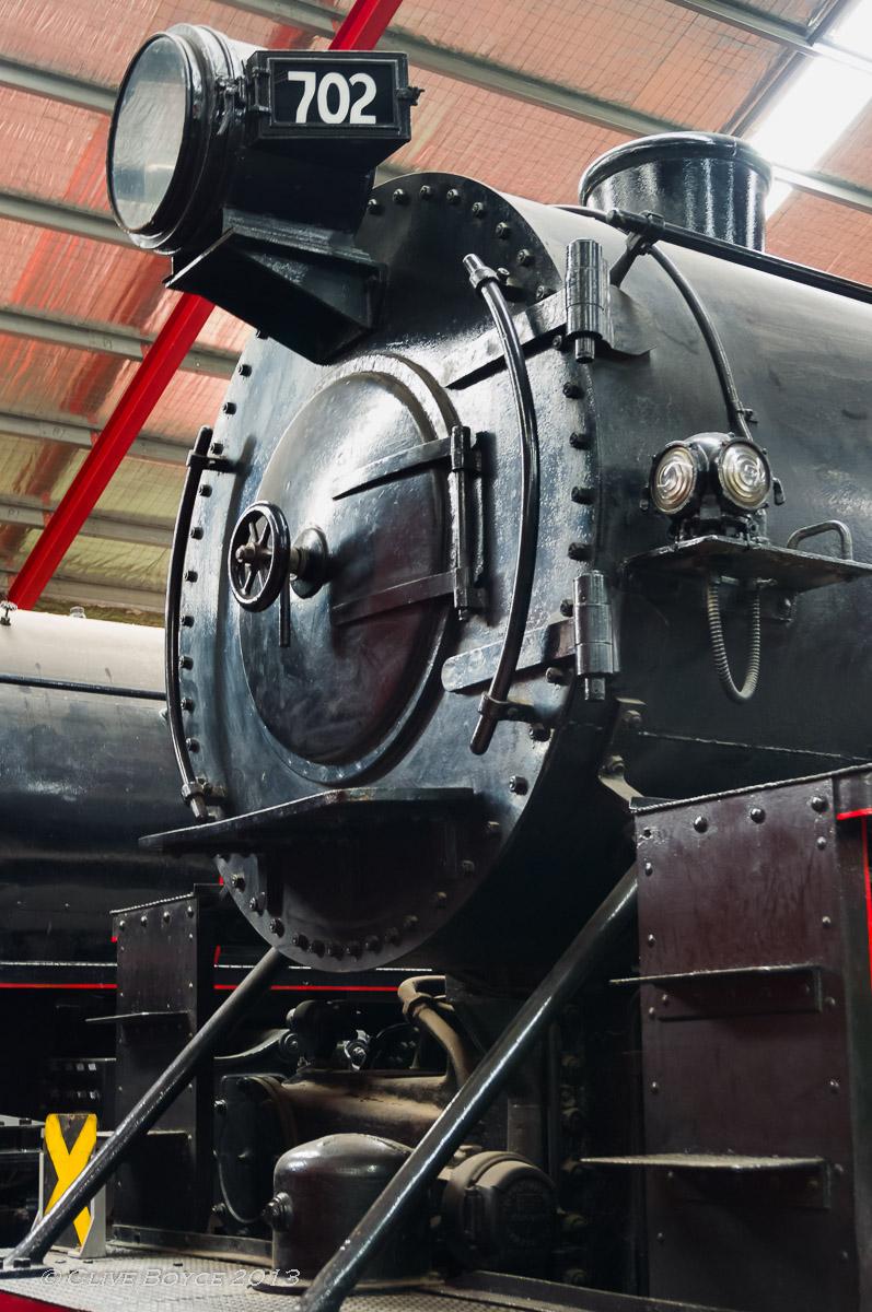 SAR steam locomotive No. 702
