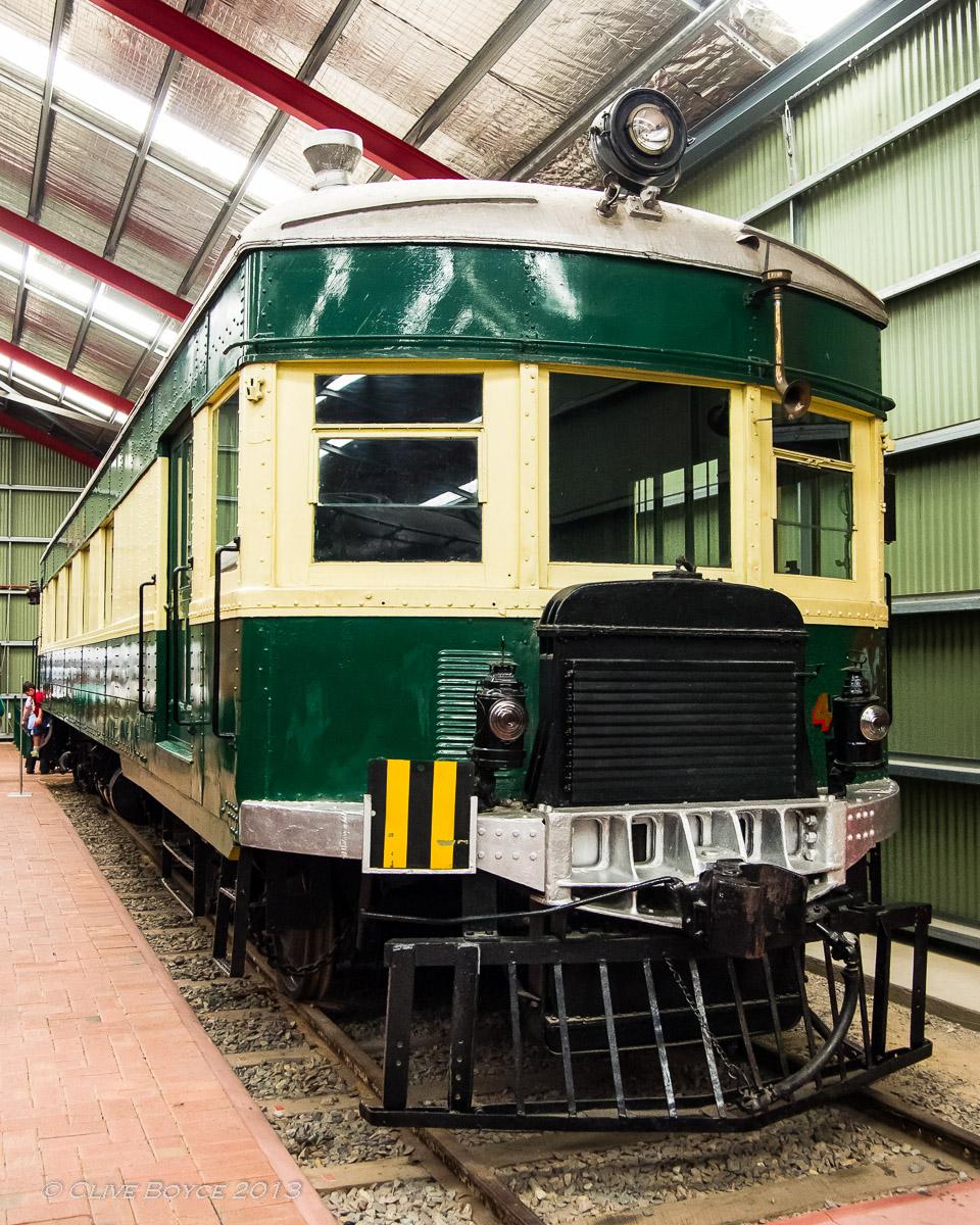 SAR Brill Rail Car 75 Class