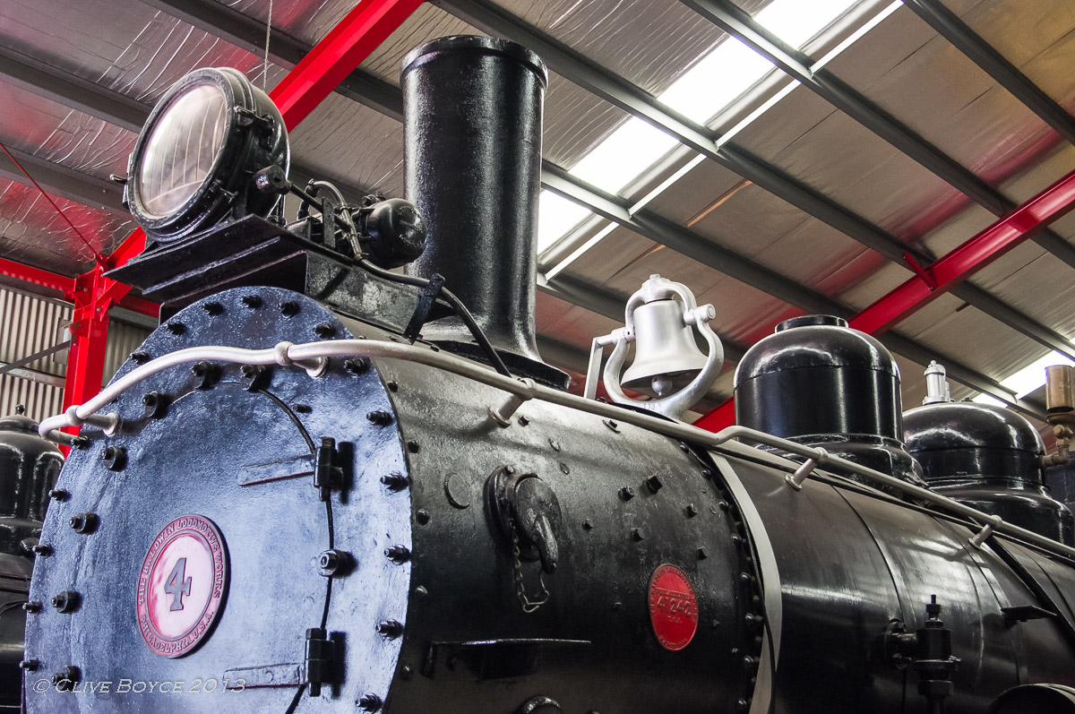 BHP Steam Locomotive No. 4