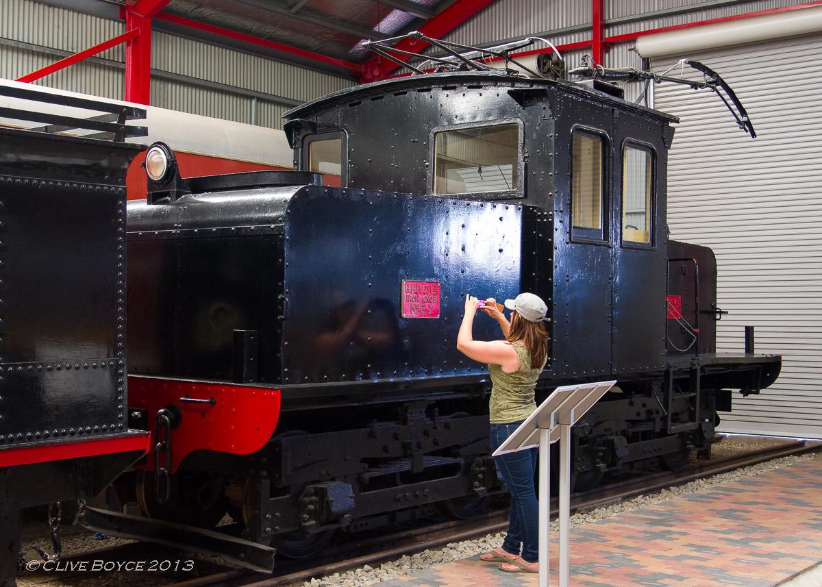 BHP E1 electric locomotive