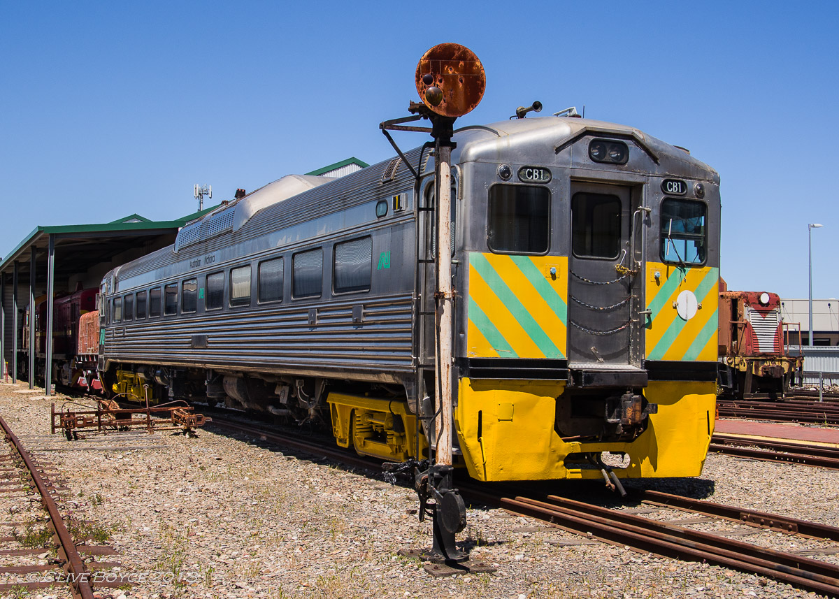 Commonwealth Railways CB1 Railcar