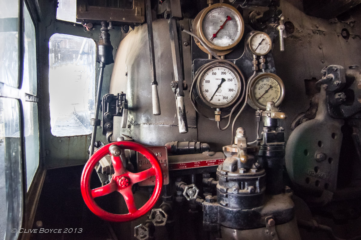 SAR Steam Locomotive No. 523 Sir Essington Lewis