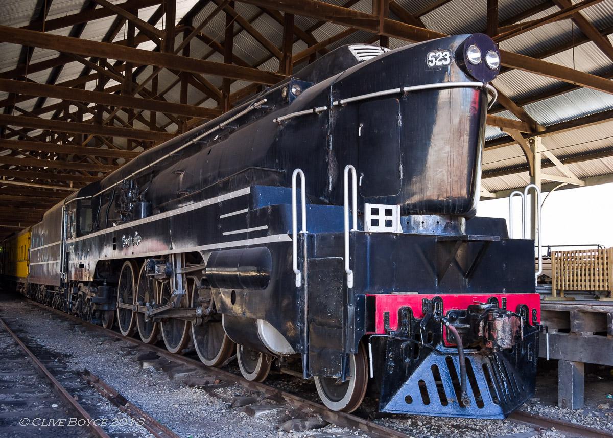 SAR Steam Locomotive No. 523 Sir Essington Lewis