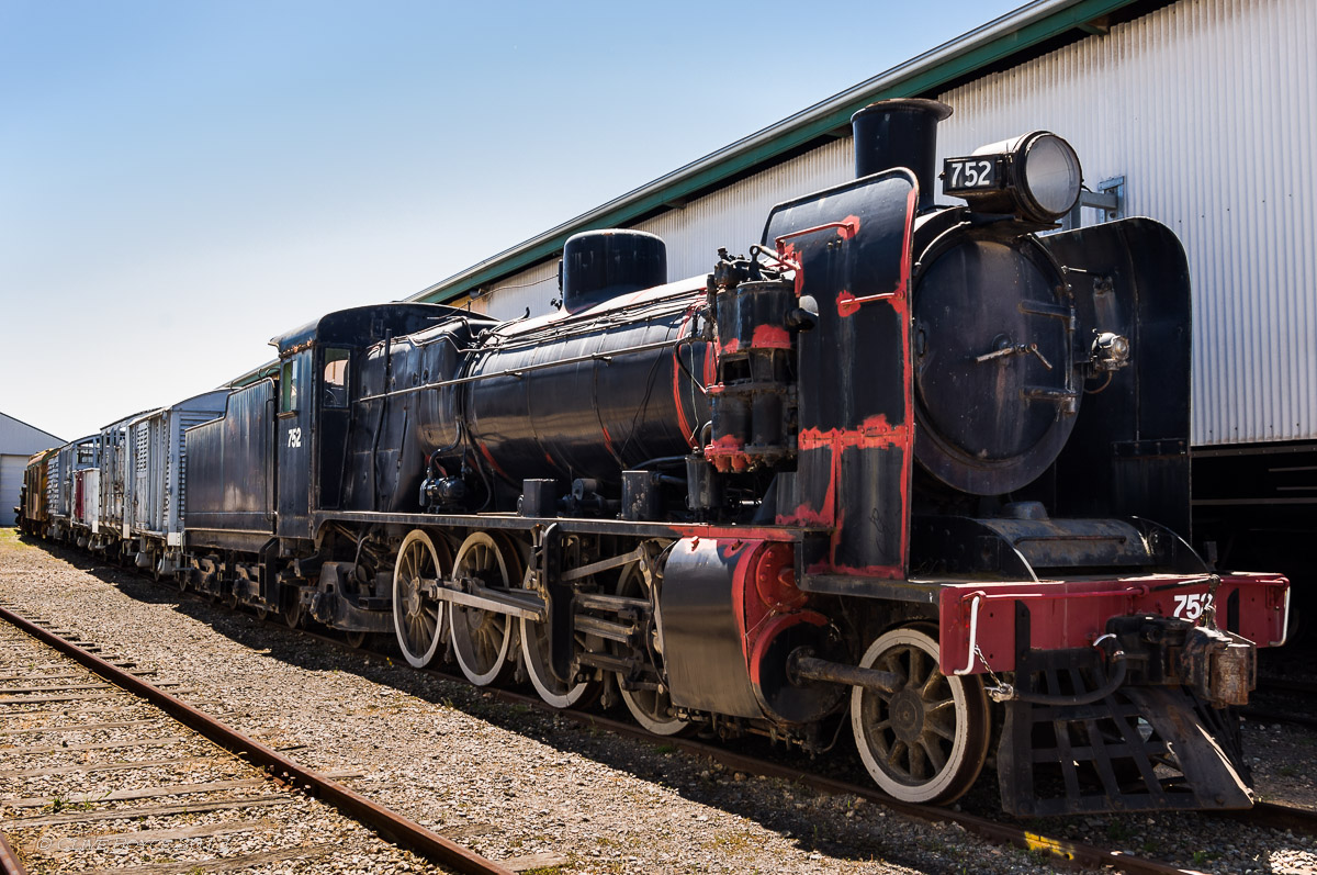 SAR 750 Class Steam Locomotive No. 752