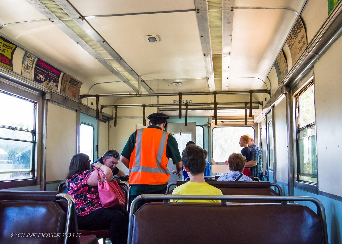SAR Red Hen Rail Cars