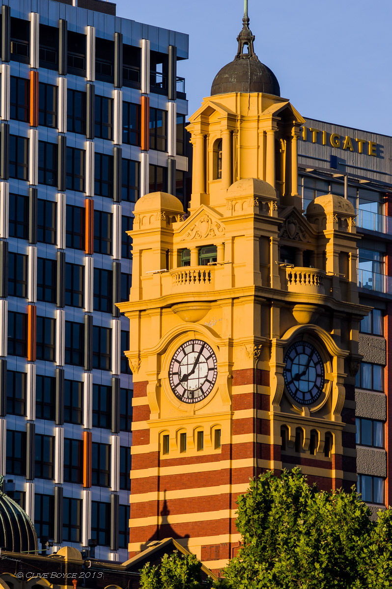 Flinders Street Station clock tower