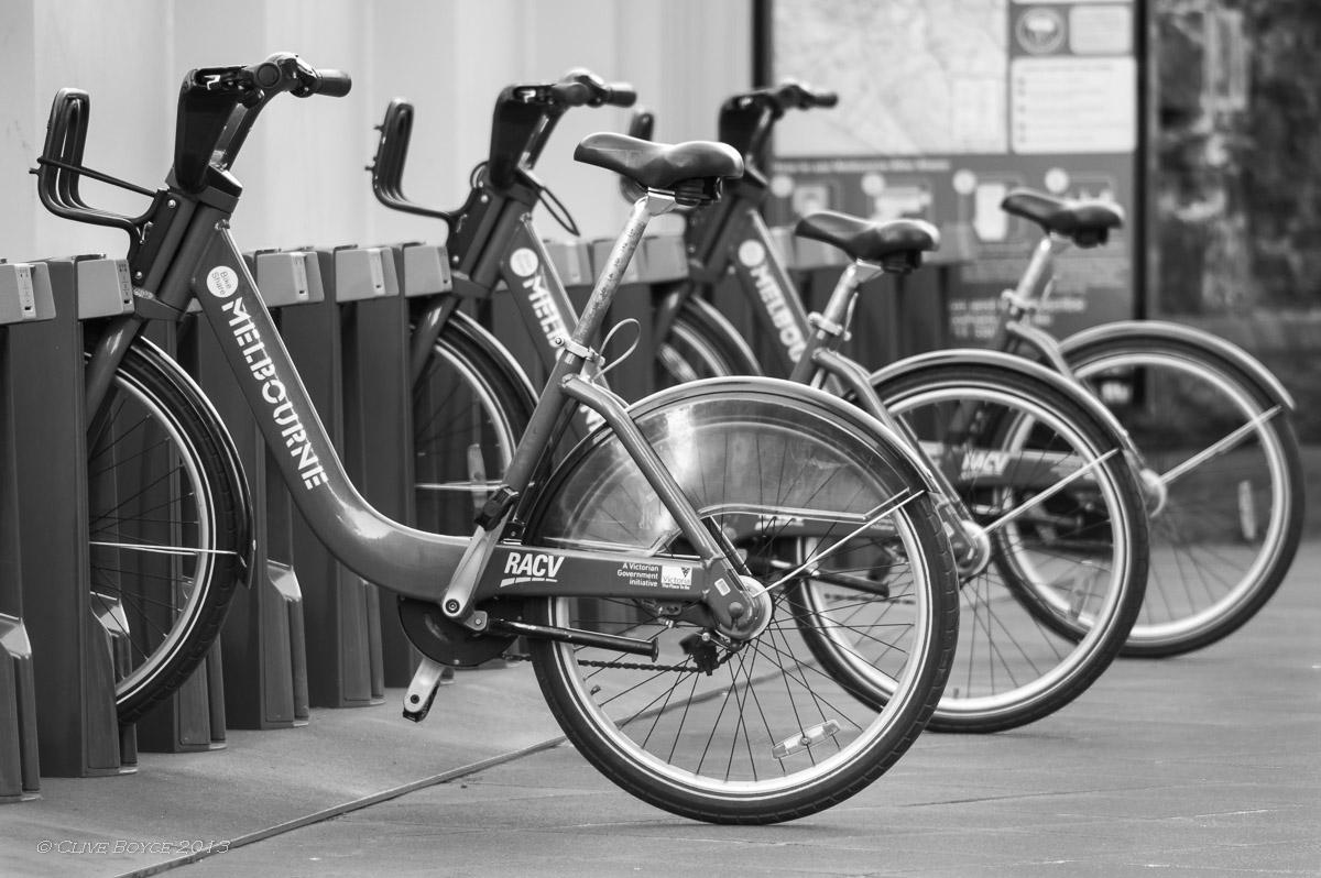 Free Melbourne bikes