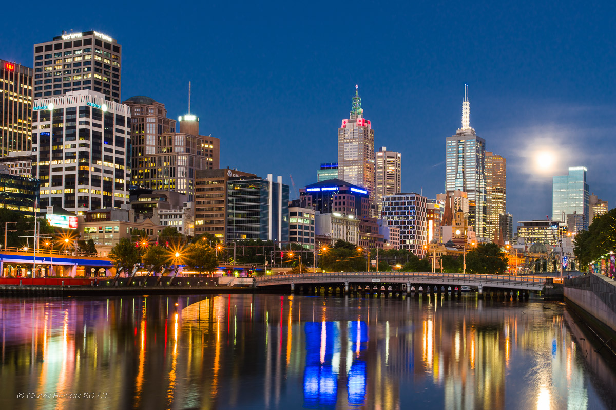 Melbourne by Twilight