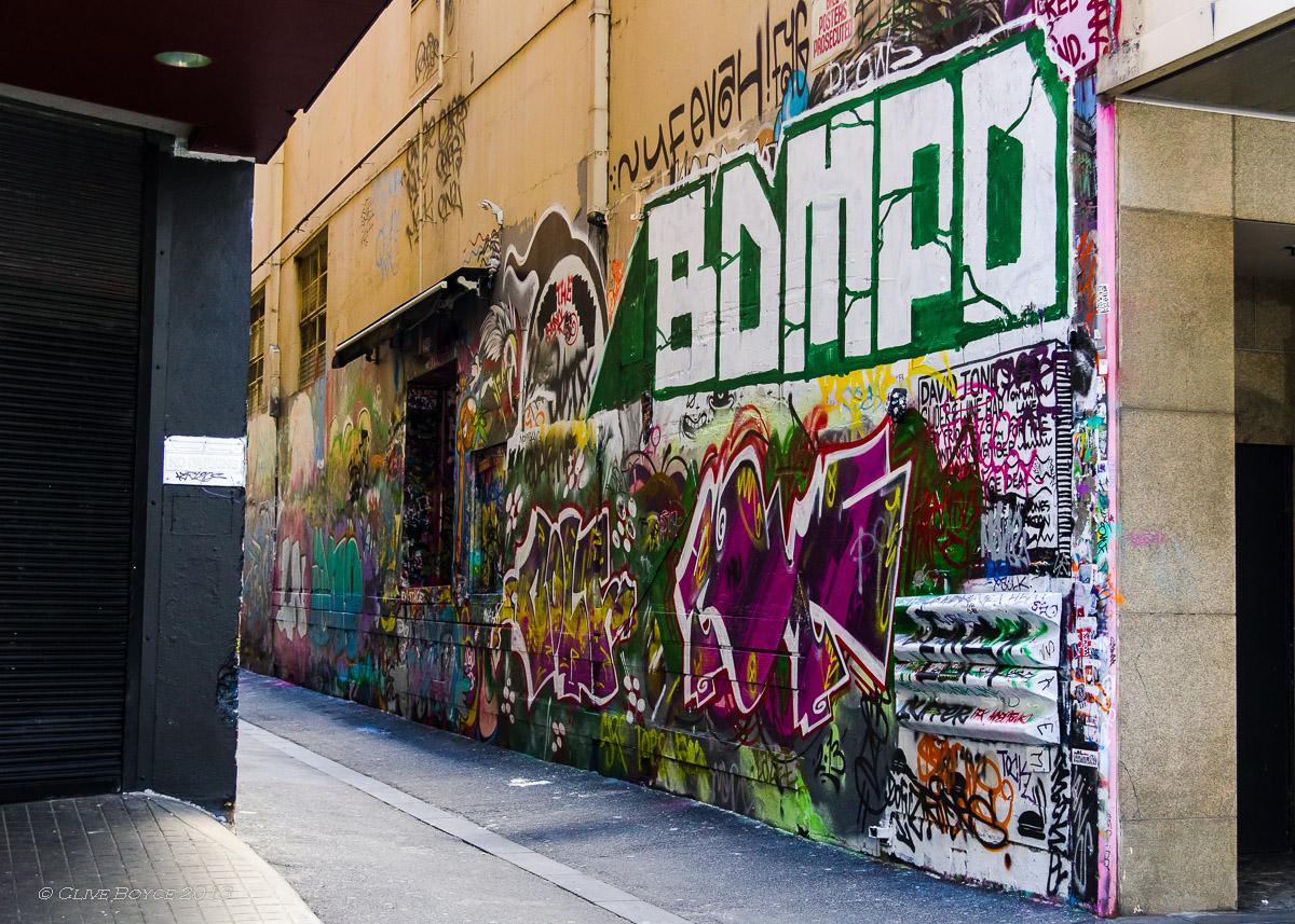 Graffiti Alley (1), Melbourne