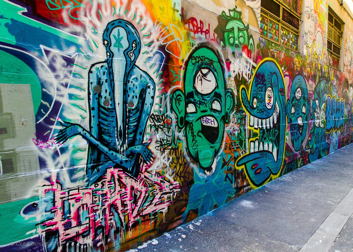 Graffiti Alley (2), Melbourne