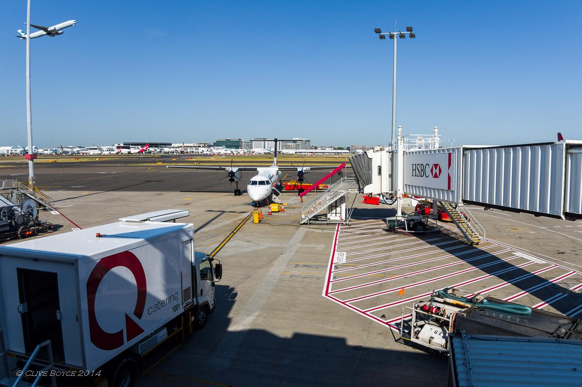 QantasLink, Sydney Airport