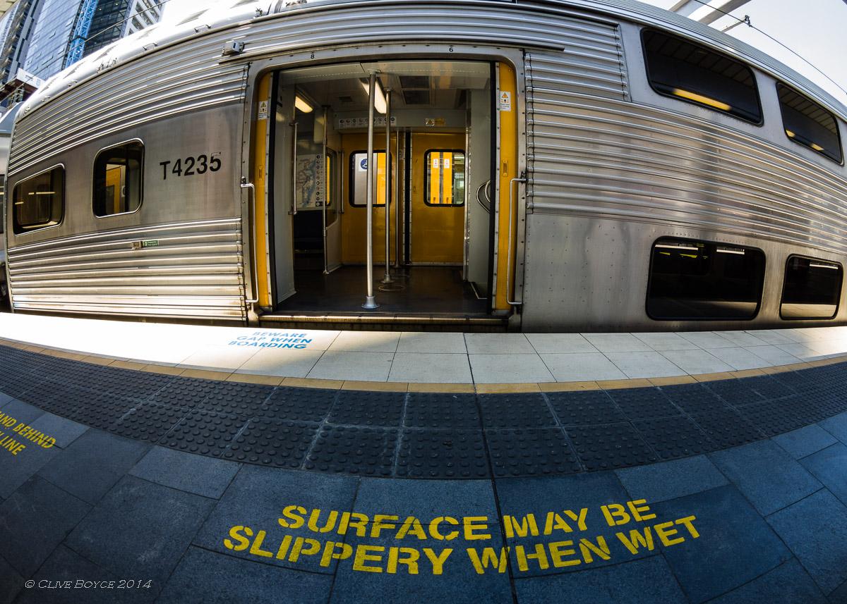 Sydney suburban train