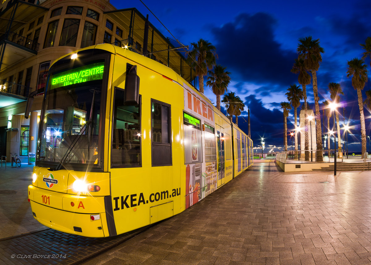 The Bay Tram, Glenelg, Adelaide