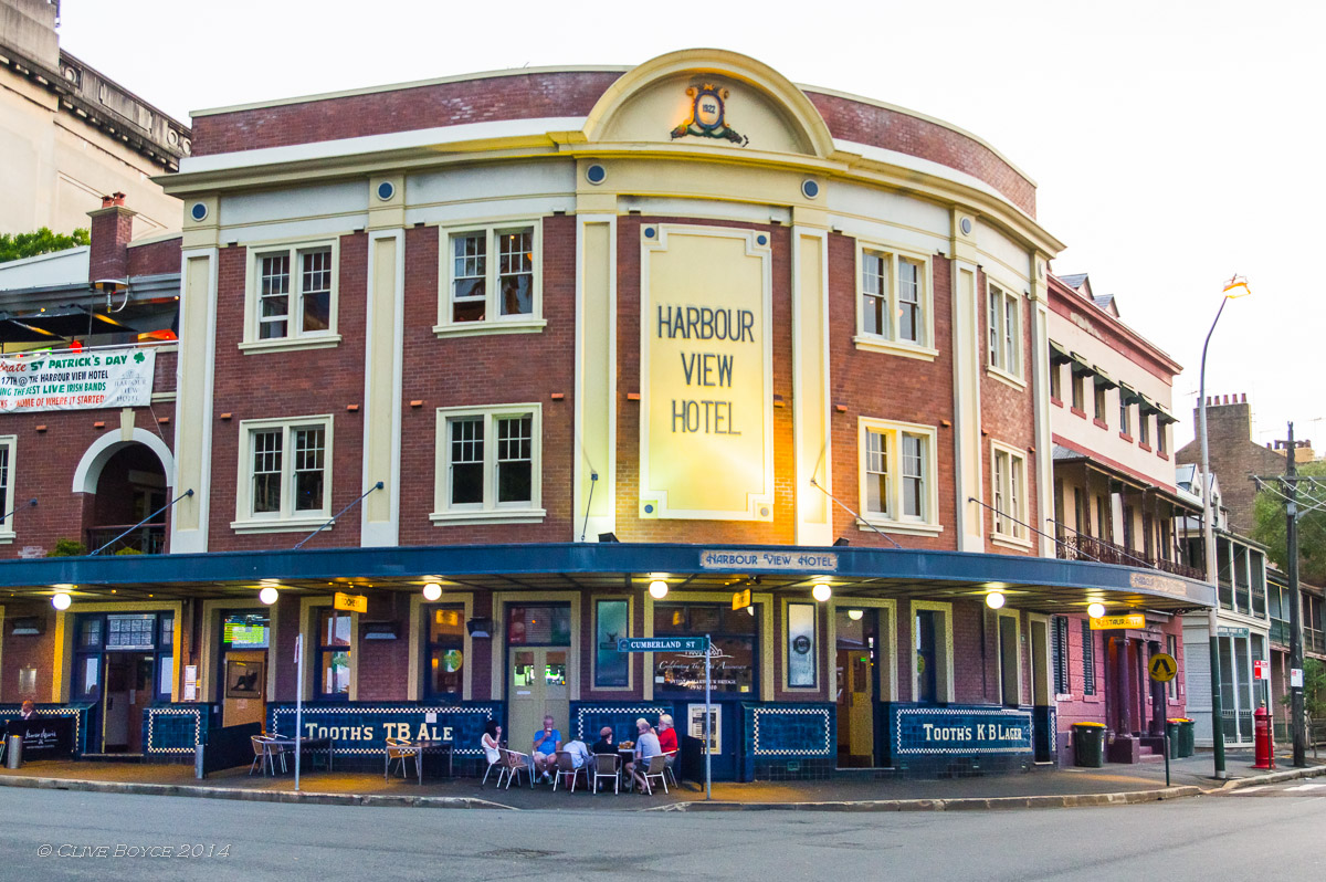 Harbour View Hotel, The Rocks