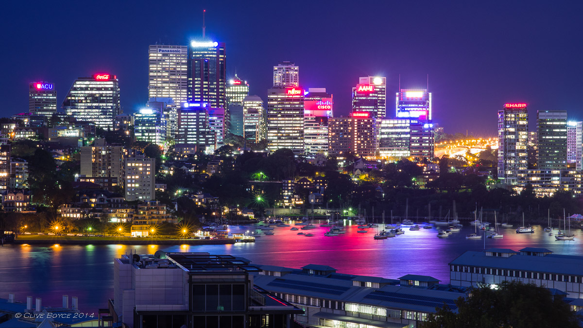 North Sydney at Night