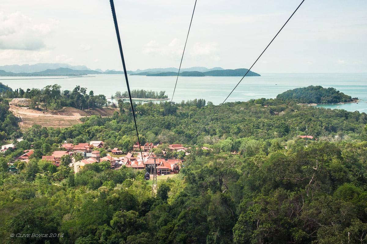Langkawi Cable Car, Gunung Machinchang
