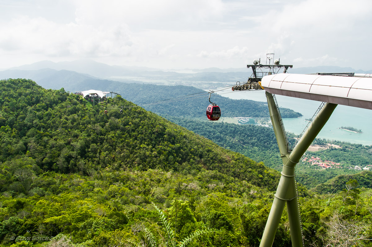 Langkawi Cable Car, Gunung Machinchang
