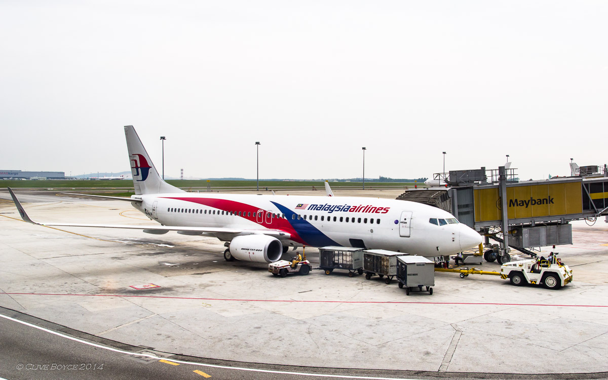 Malaysian Airlines 9M-MLN