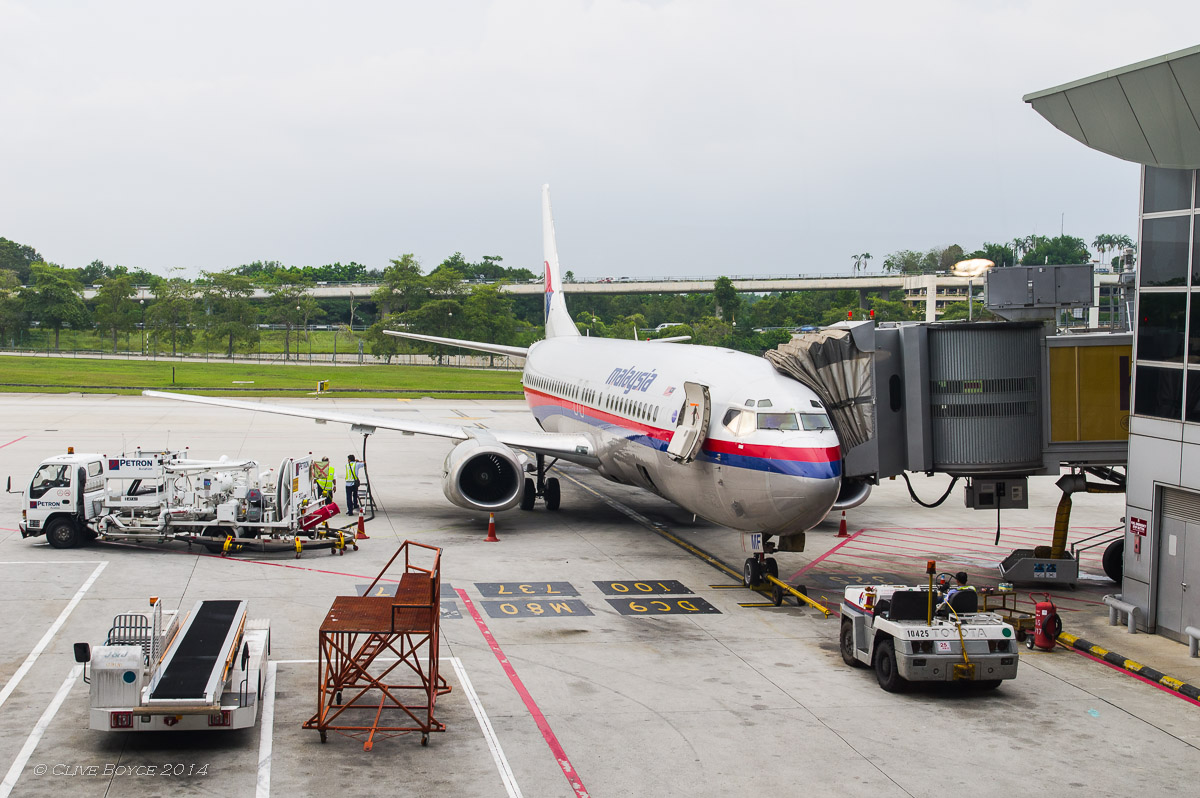 Malaysian Airlines 9M-MMF