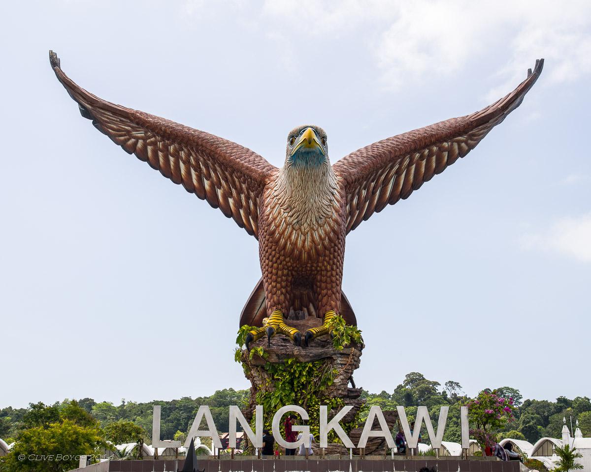 Dataran Helang (Eagle Square), Kuah Bay