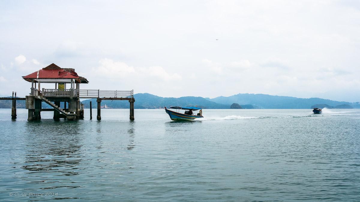 Long boats, Langkawi