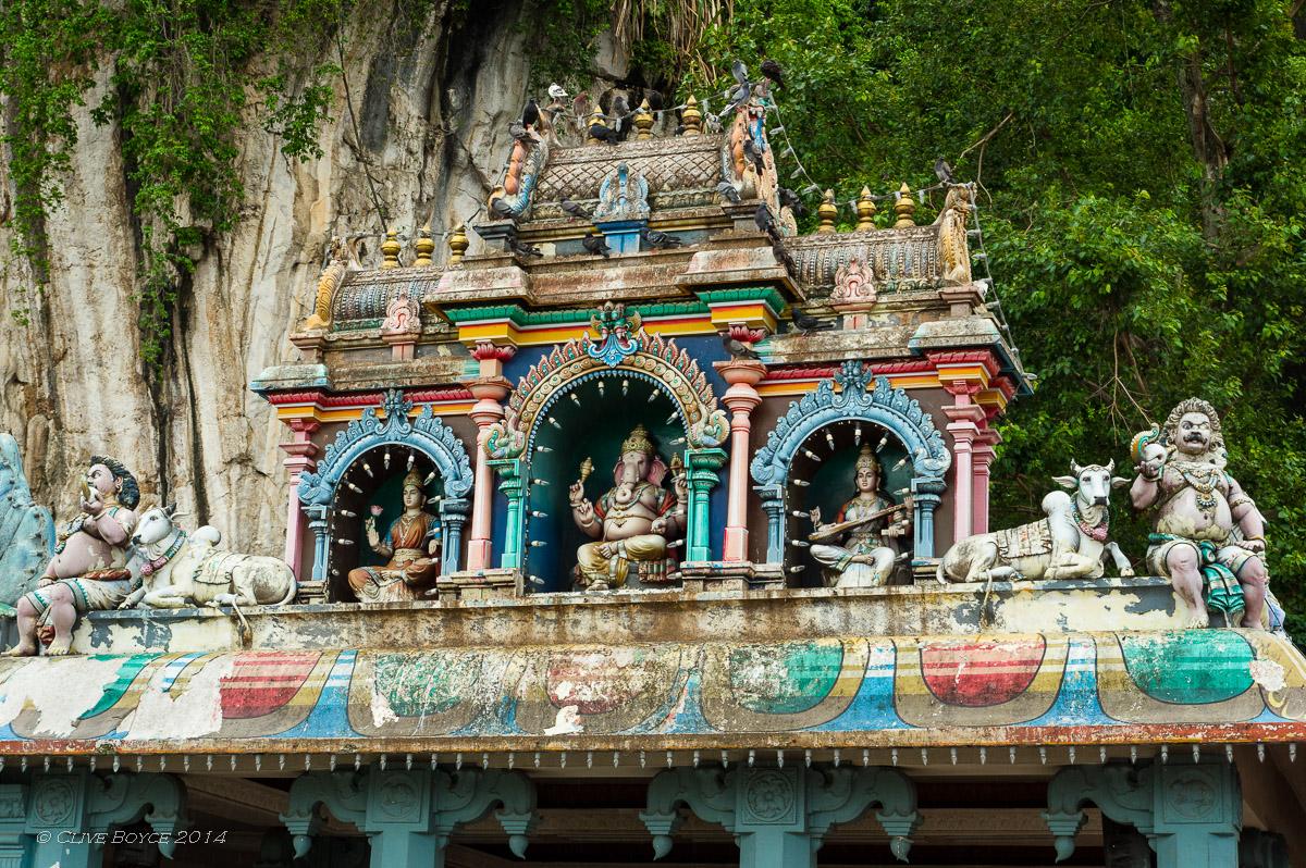 Entrance shrine, Batu Caves